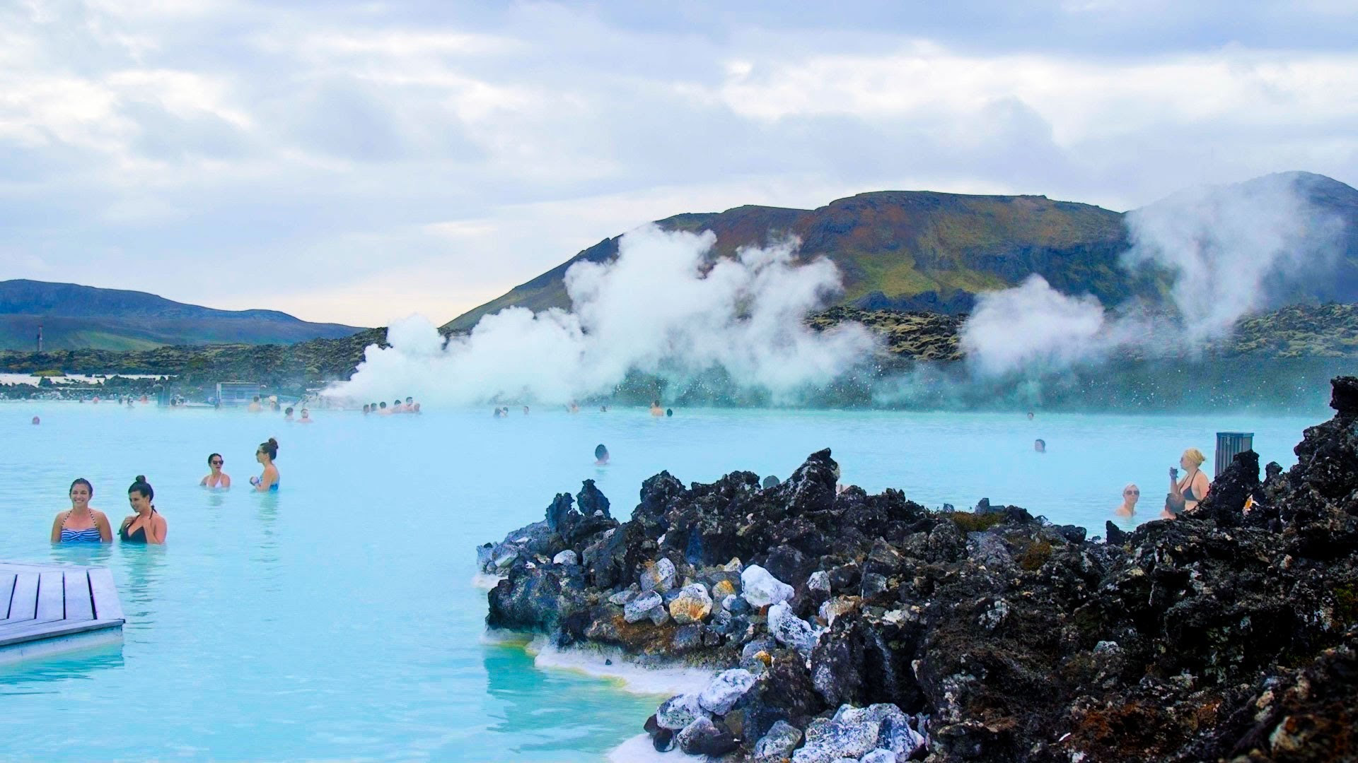 Image result for blue lagoon iceland wallpaper