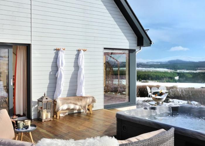 Eco-friendly Aviemore Winter Lodge Break