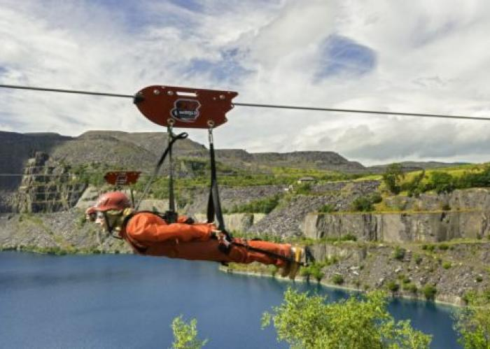 World's Fastest Zip Line In Wales