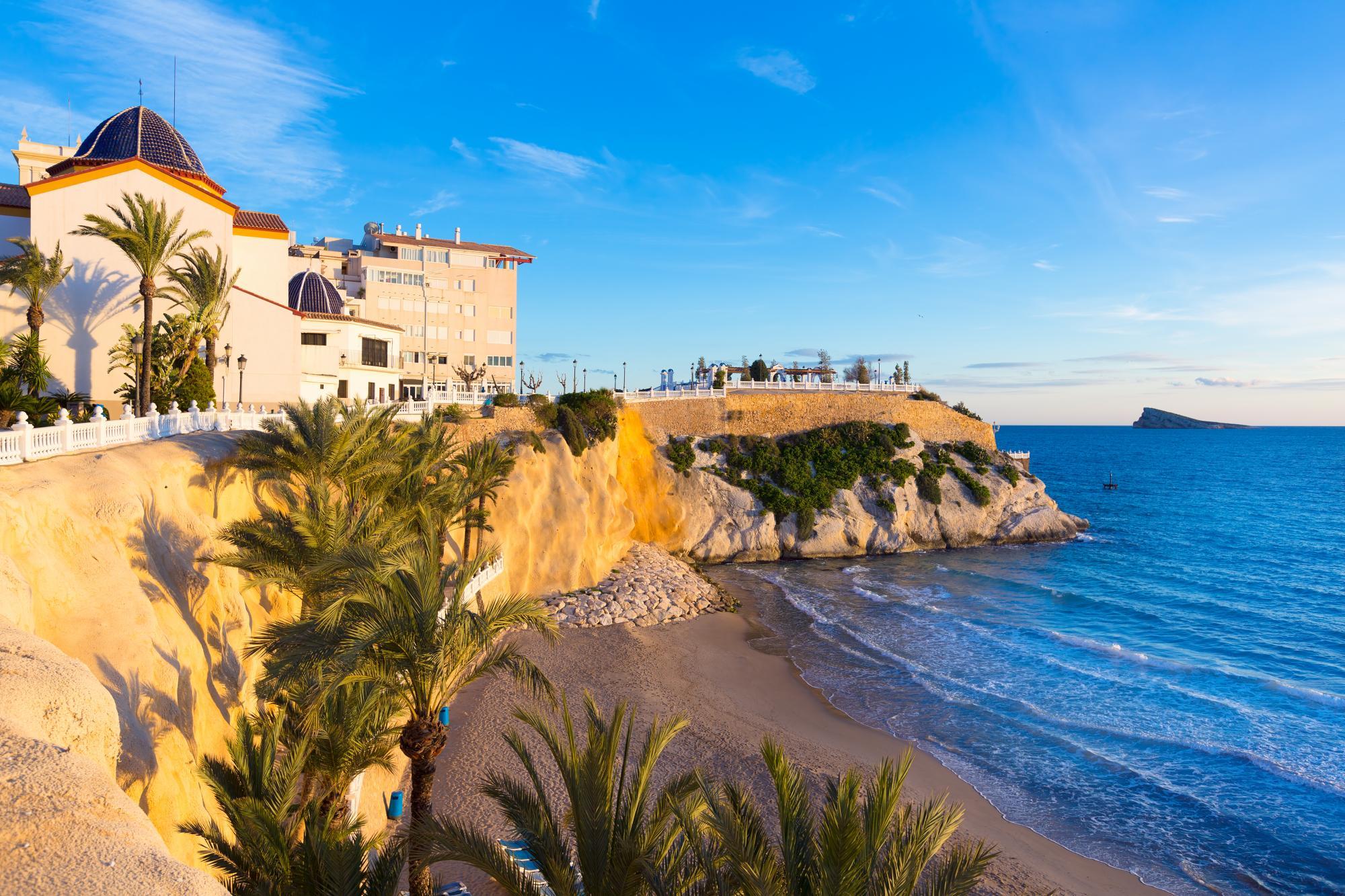 Дом испания бенидорм пляжи