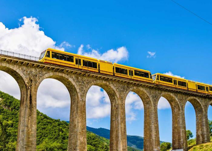 Spectacular Train Journey through the Pyrenees