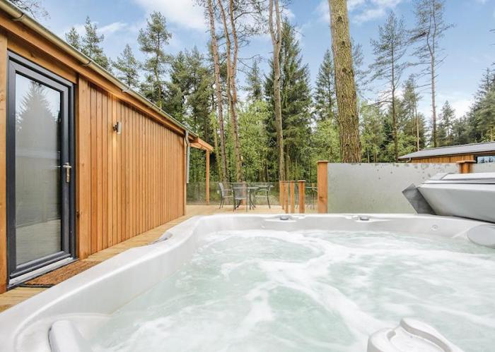 Couples Luxury Lodge break with Sauna and Hot Tub