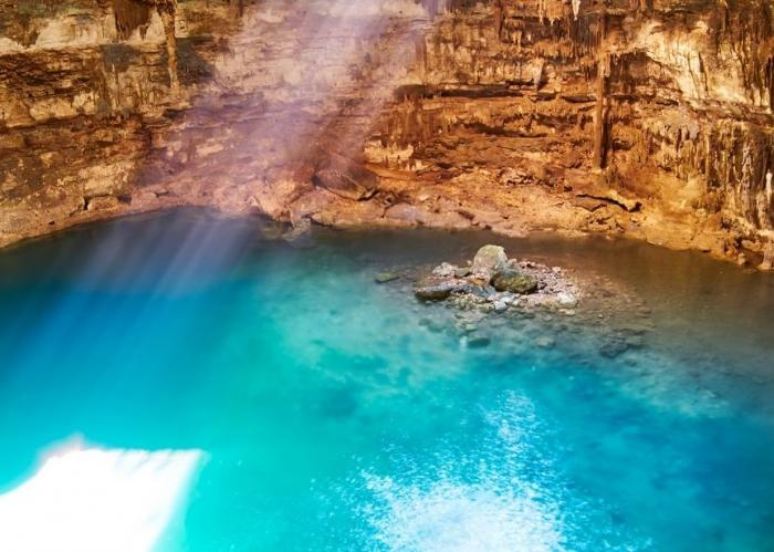 Mexico - One, Two, Three... Jump into a Cenote