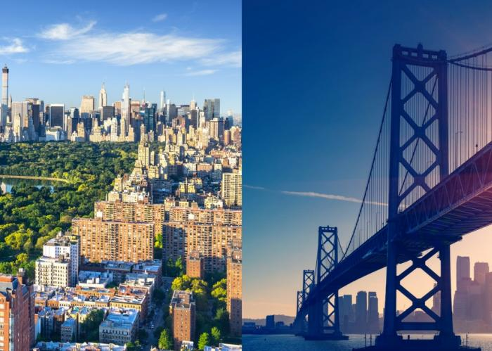 San Francisco and New York Valentines Special